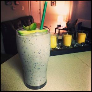 Avocado-Blueberry